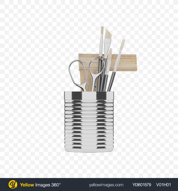 Download Stationary Tools Transparent PNG on YELLOW Images