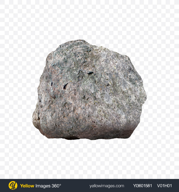 Download Grey Rock Transparent PNG on Yellow Images 360°