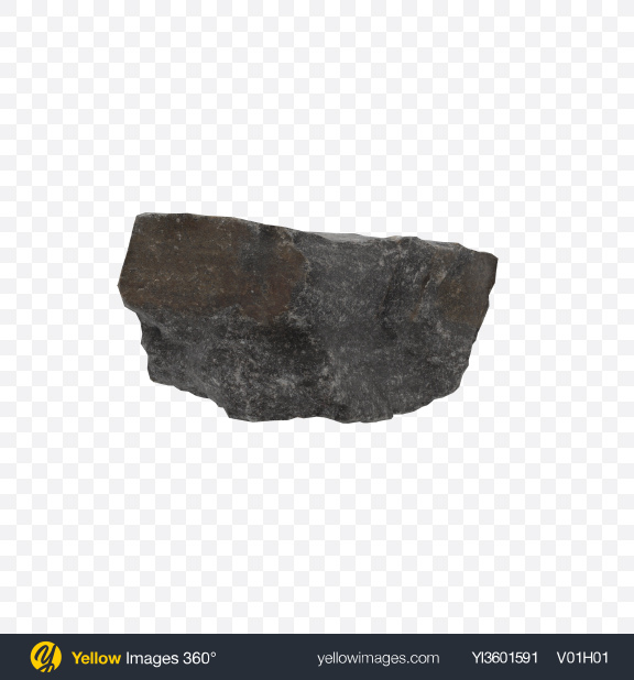 Download Black Rock Transparent PNG on Yellow Images 360°