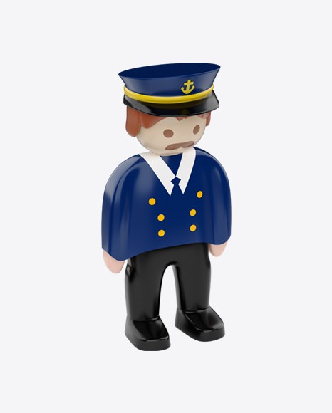 Toy Captain Figure