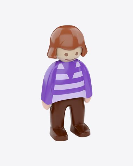 Toy Girl Figure