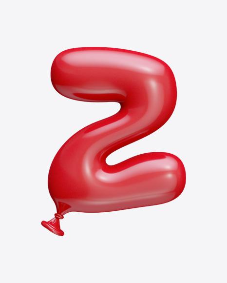 Letter Z Balloon