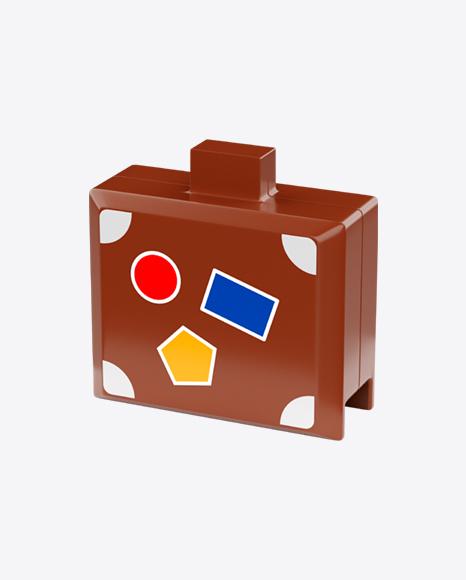 Plastic Toy Suitcase