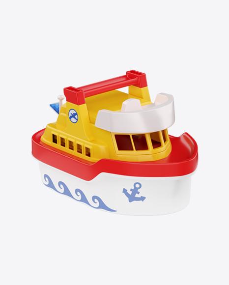 Plastic Ship Toy