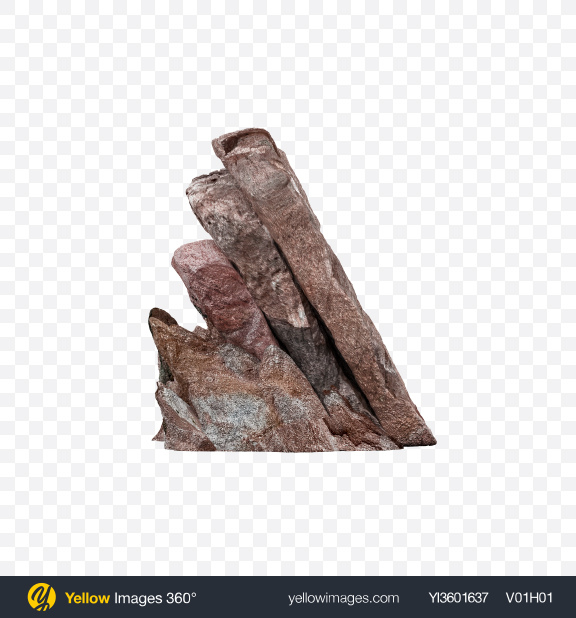 Download Brown Rock Transparent PNG on Yellow Images 360°
