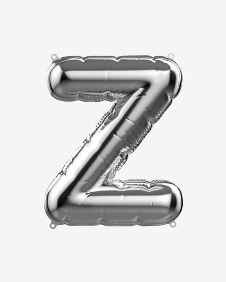 Letter Z Foil Balloon