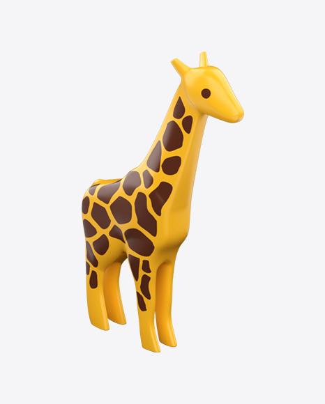 Plastic Giraffe Toy