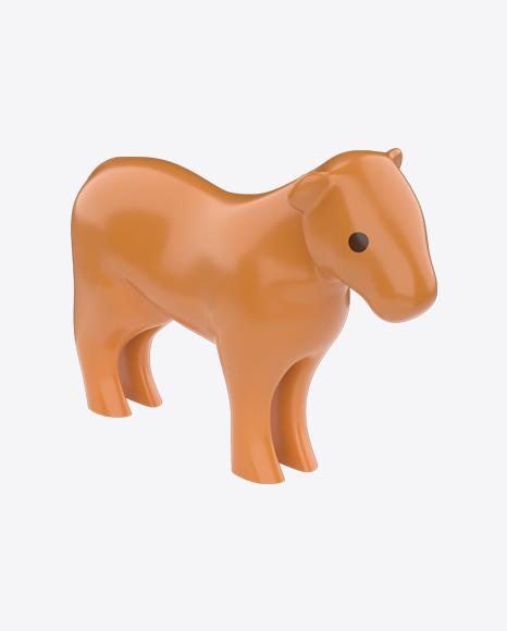 Plastic Lioness Toy
