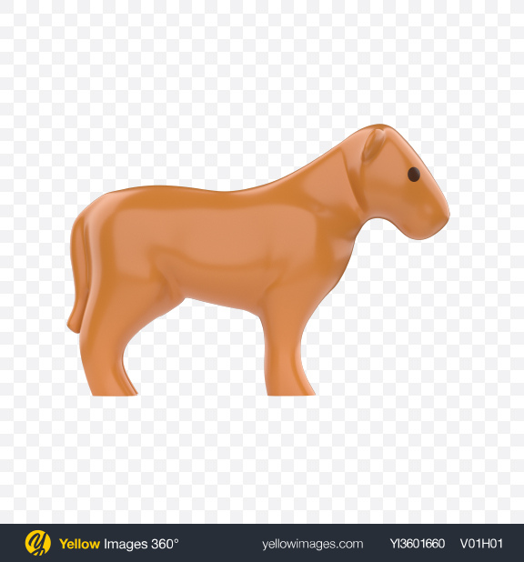 Download Plastic Lioness Toy Transparent PNG on Yellow Images 360°