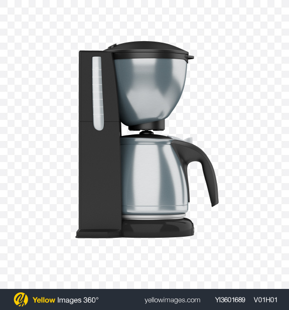 Download Coffee Maker Transparent PNG on Yellow Images 360°