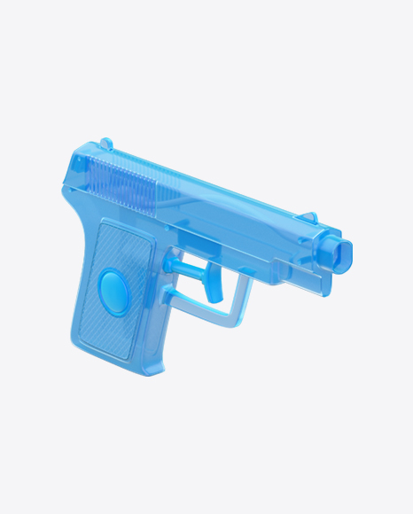 Blue Toy Water Gun