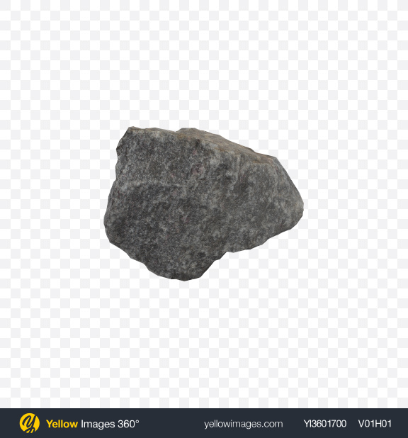 Download Grey Granite Rock Transparent PNG on Yellow Images 360°