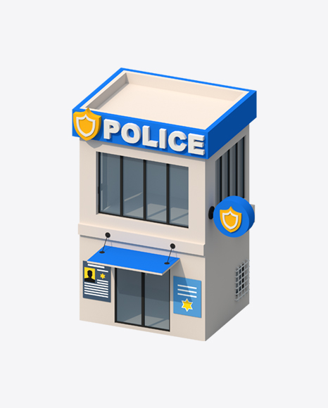Low Poly Police Department