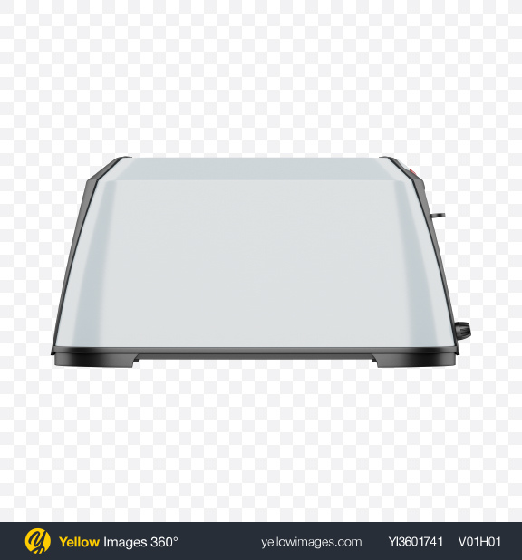 Download One Slice Toaster Transparent PNG on Yellow Images 360°