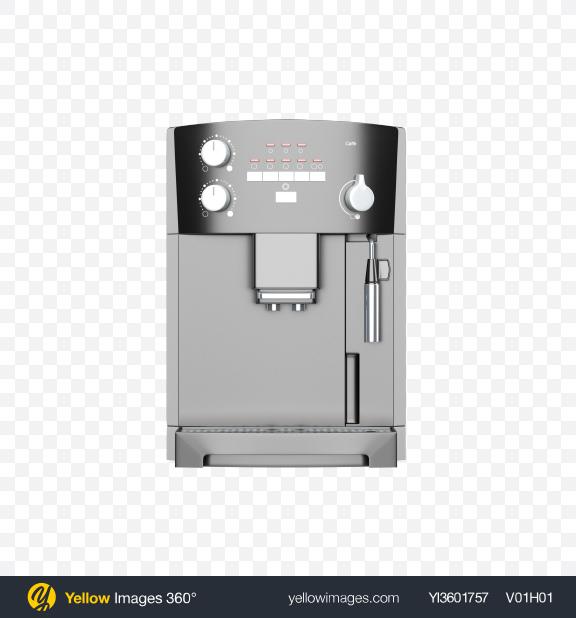 Download Coffee Machine Transparent PNG on Yellow Images 360°