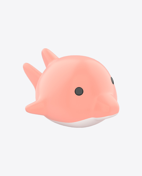 Floating Pink Dolphin Bath Toy