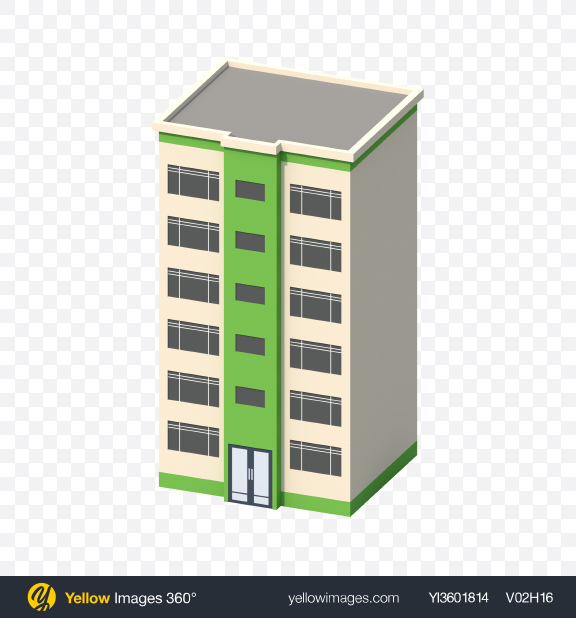Download Low Poly Building Transparent PNG on PNG Images