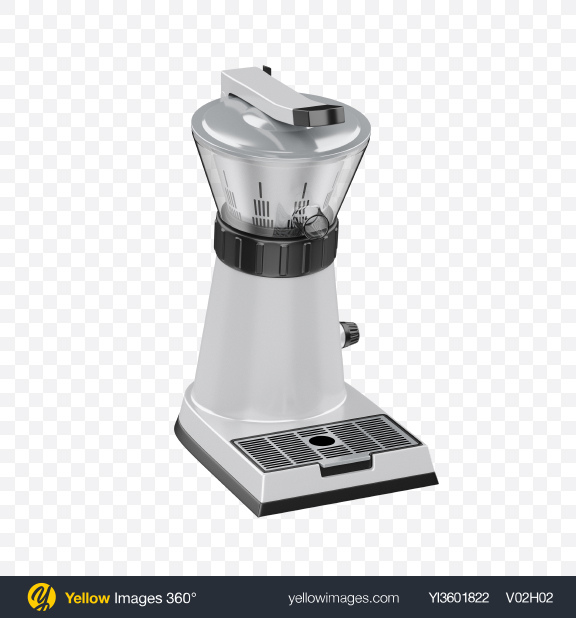 Download Espresso Coffee Grinder Transparent PNG on Yellow Images 360°