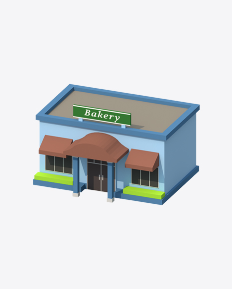 Low Poly Bakery
