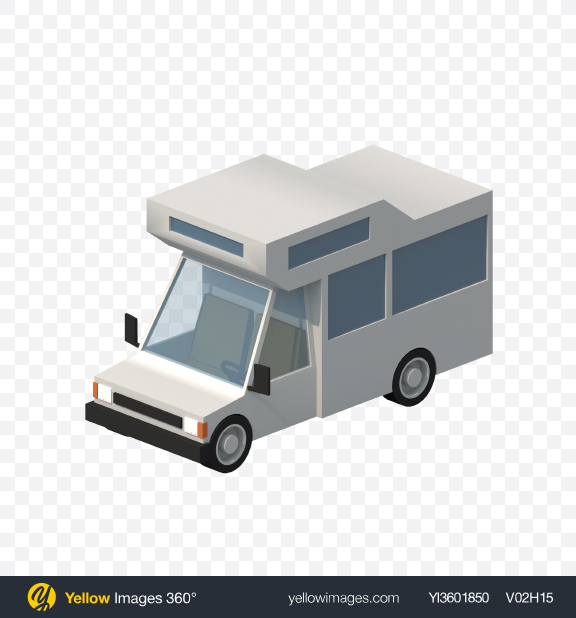 Download Low Poly Camping Car Transparent PNG on PNG Images