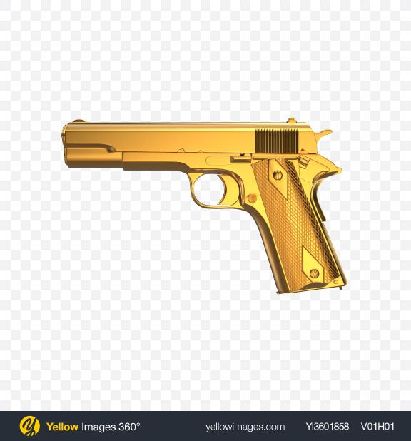 Download Gold Gun Transparent PNG on PNG Images