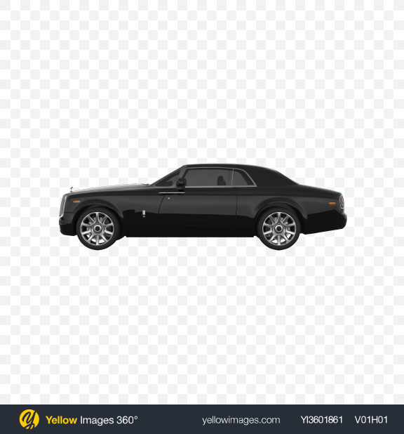 Download Black Luxury Sedan Transparent PNG on YELLOW Images