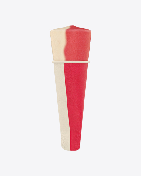 Ice Lolly in Paper Tube