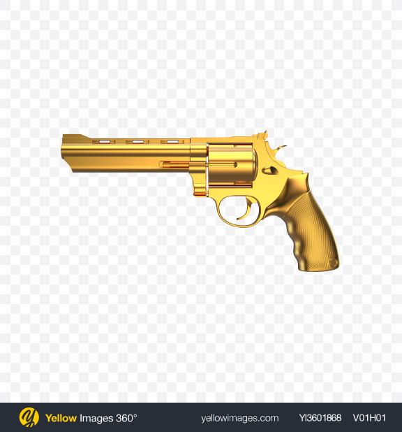 Download Gold Revolver Transparent PNG on PNG Images