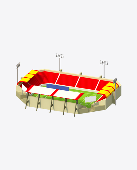 Low Poly Stadium