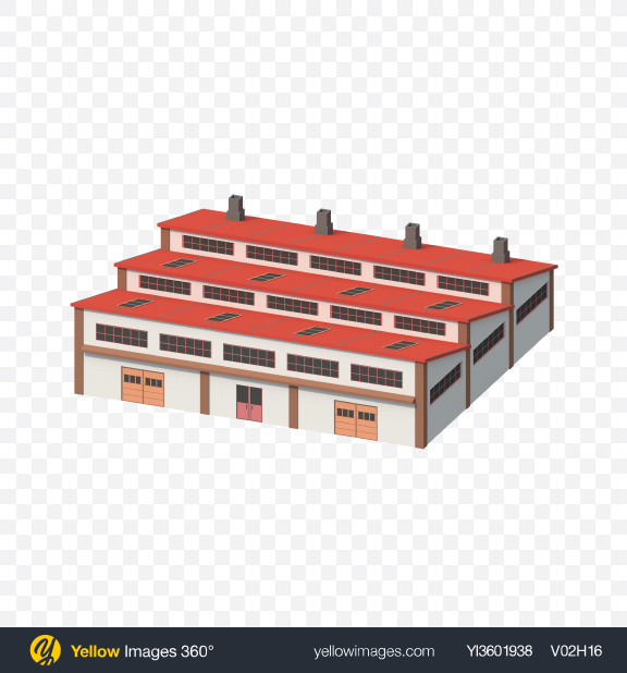 Download Low Poly Factory Transparent PNG on PNG Images