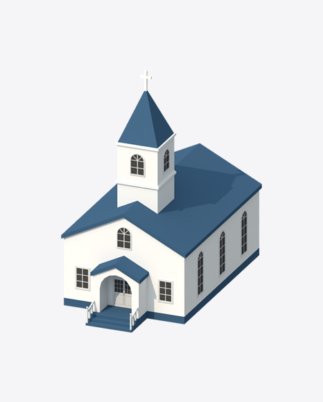 Low Poly Church