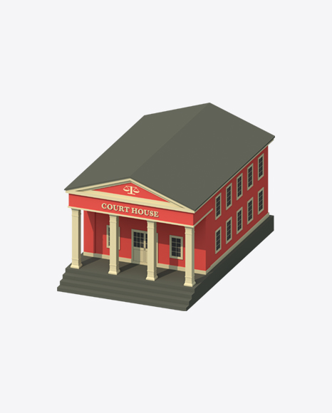 Low Poly Court House