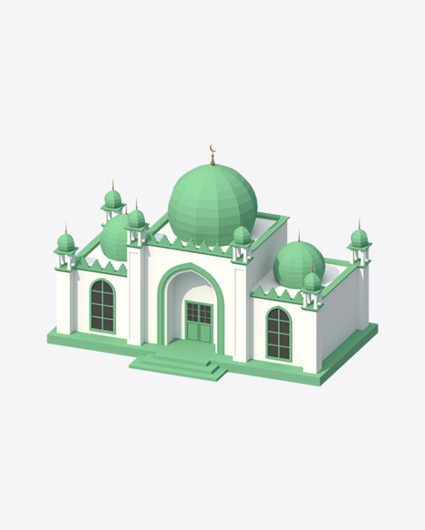 Low Poly Mosque