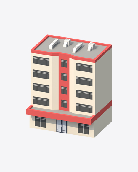 Low Poly Building