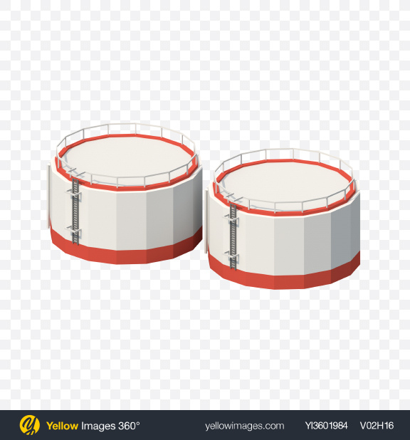 Download Low Poly Storage Tanks Transparent PNG on PNG Images