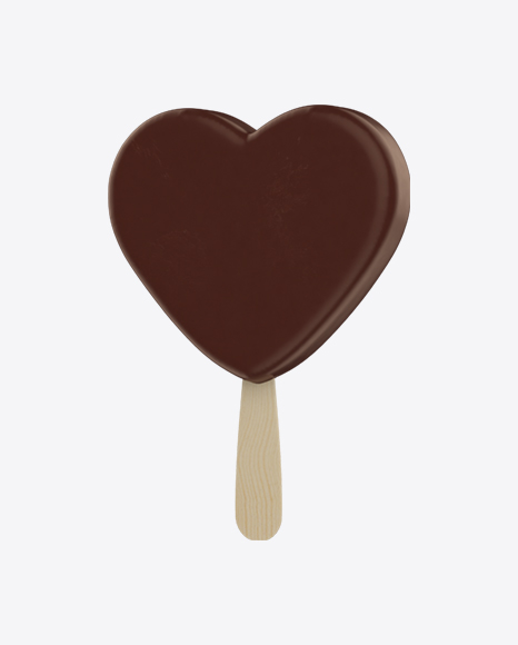 Heart Shaped Ice Cream Bar