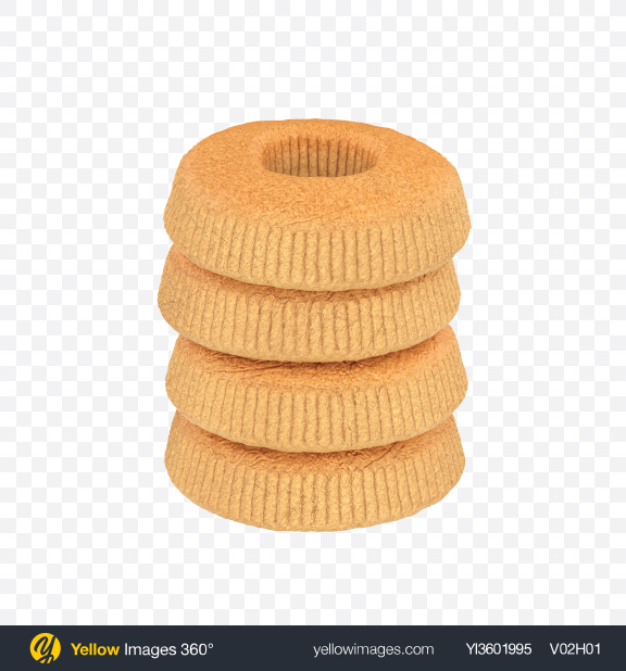 Download Butter Tea Cookies Transparent PNG on Yellow Images 360°