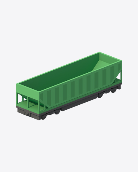 Low Poly Hopper Car