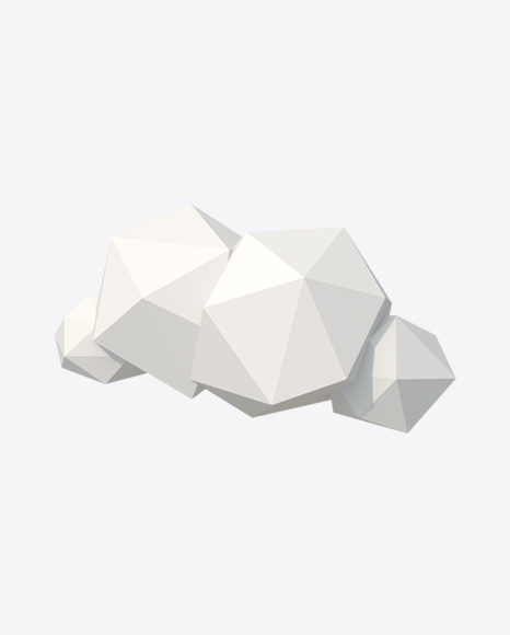 Low Poly Cloud