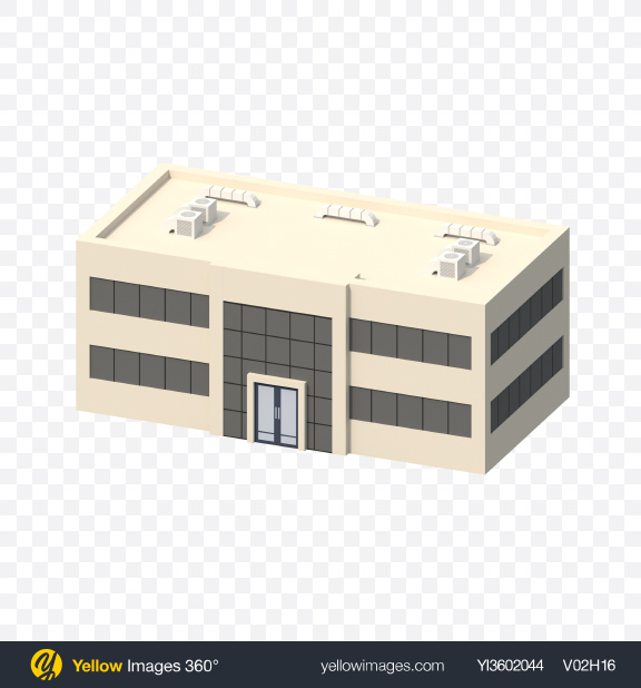 Download Low Poly Office Transparent PNG on Yellow Images 360°