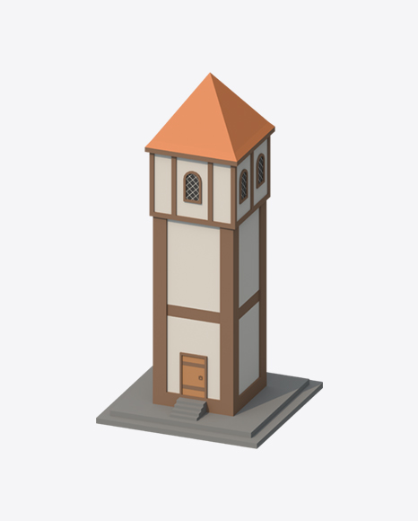 Low Poly Tower