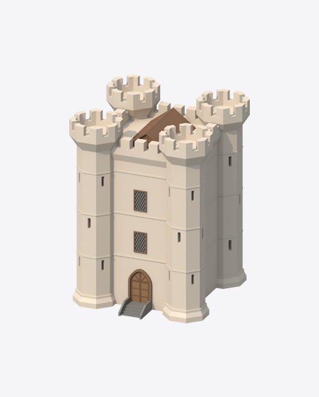 Low Poly Castle