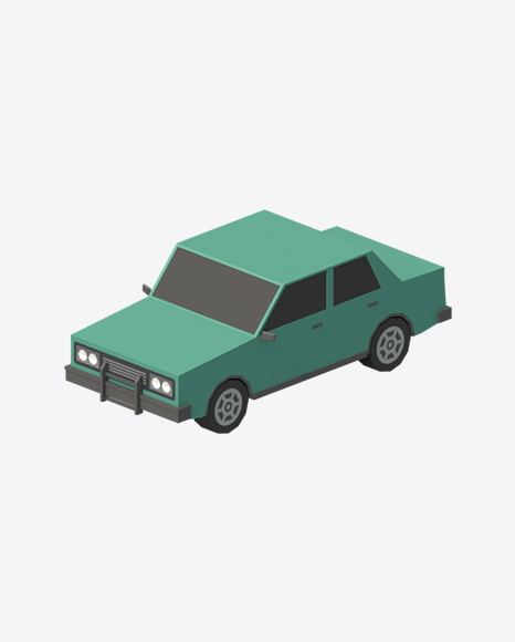 Low Poly Car
