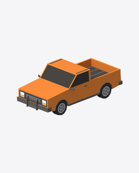 Low Poly Pick-Up