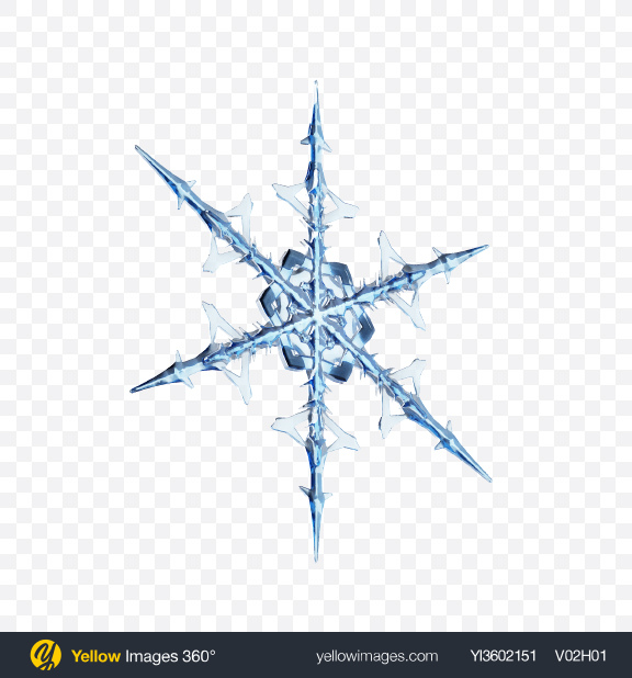 Download Snowflake Transparent PNG on Yellow Images 360°