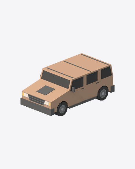 Low Poly SUV