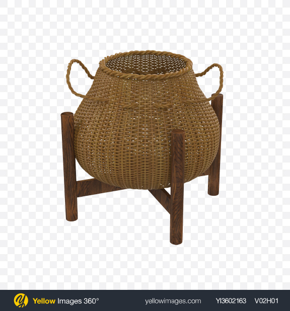 Download Basket Transparent PNG on Yellow Images 360°