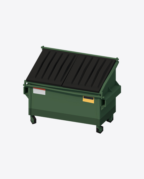 Low Poly Dumpster