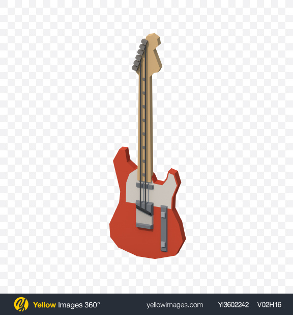Download Low Poly Electric Guitar Transparent PNG on PNG Images