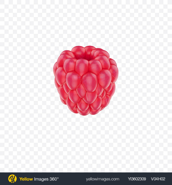 Download Raspberry Transparent PNG on Yellow Images 360°